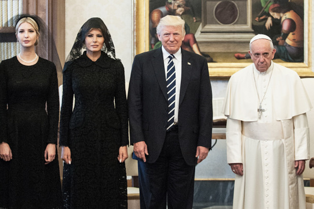 тръмп във ватикана