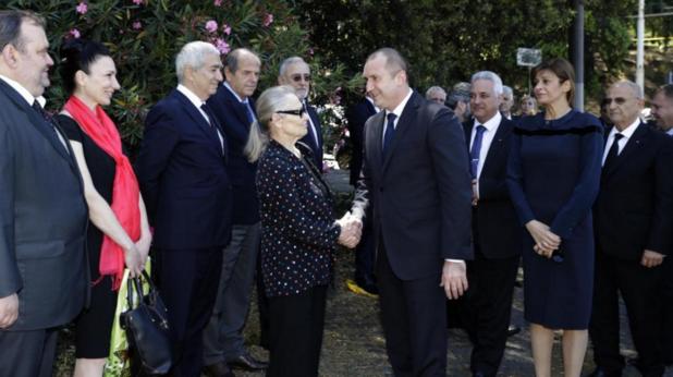 българска делегация във ватикана