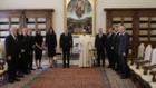 българската делегация във ватикана