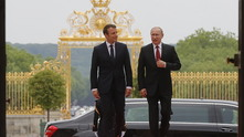 Еманюел Макрон и Владимир Путин