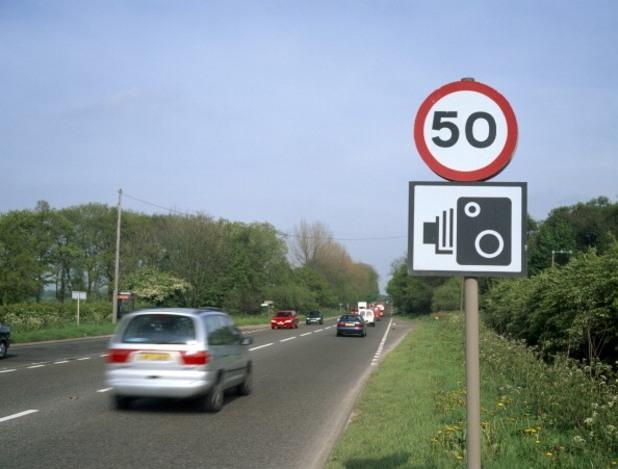 ограничение на скоростта