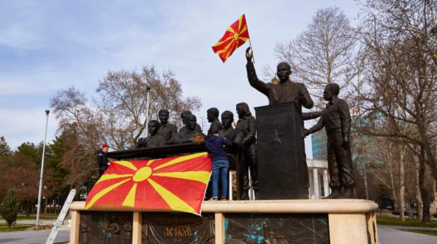 македония, паметници, скопие
