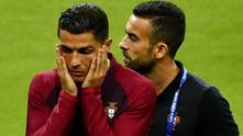 кристиано роналдо, португалия, евро 2016, тренировка