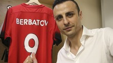 Бербатов преди началото на шоуто