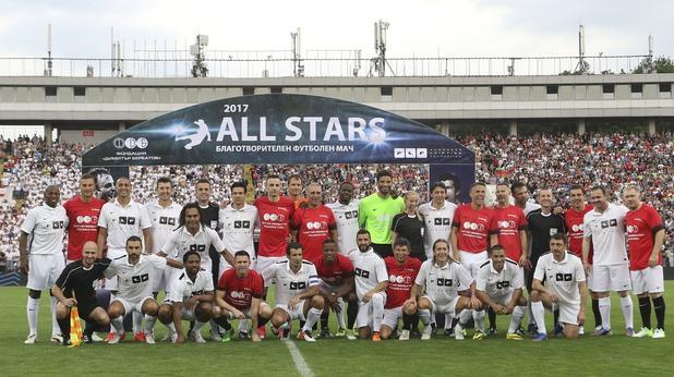 All Stars срещу United Stars