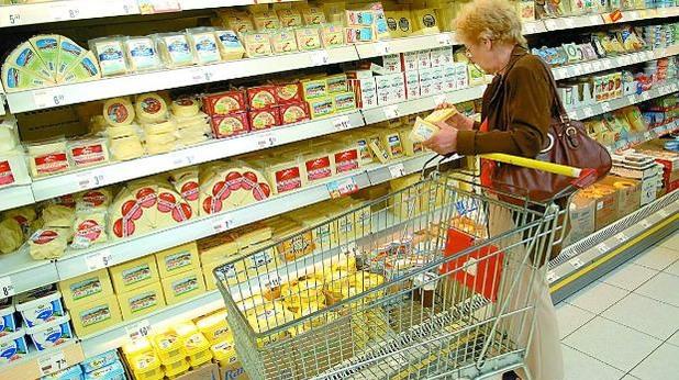 храни, супермаркет, хранителни продукти