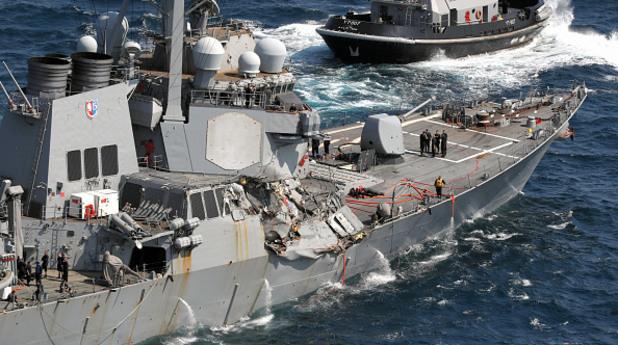 военен кораб, катастрофа, жертви, uss fitzgerald