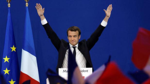 еманюел макрон, франция, президент, избори