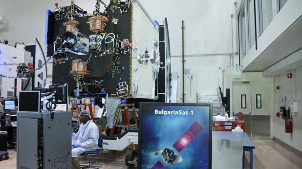Първия български сателит BulgariaSat1