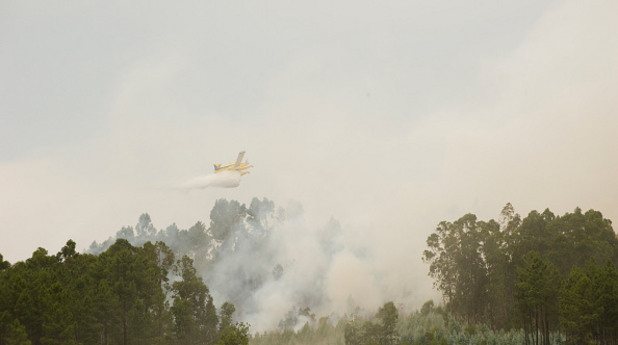 Пожар в Португалия