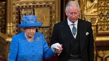 кралица елизабет ii и принц чарлз