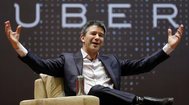 Травис Каланик, Uber, съосновател