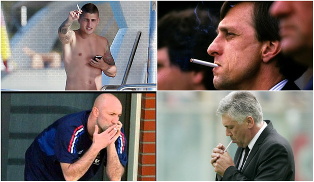 пушачи във футбола