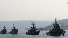 руски военни кораби Сирия Средиземно море