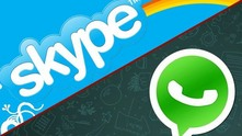 skype whatsapp приложения комуникация