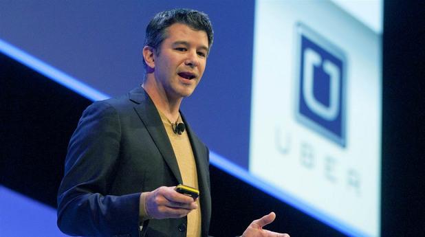 травис каланик uber ръководител