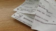 касови бележки лотария