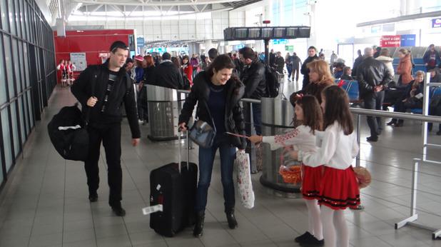 летище софия пристигащи пътници