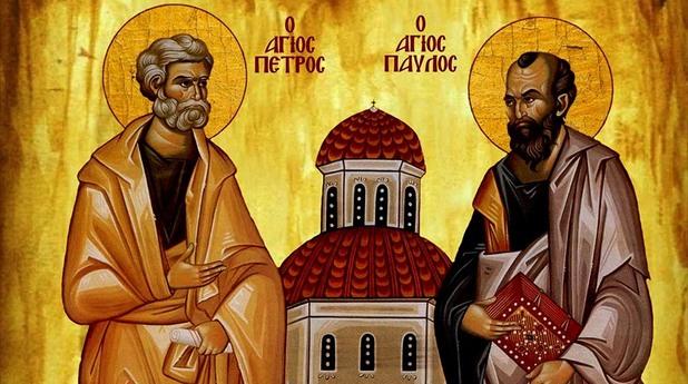 свети петър, свети павел, апостоли