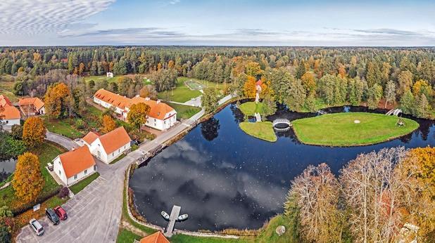 естония, езера, природа