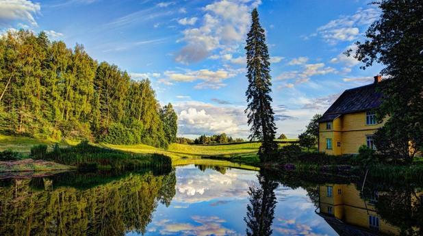 естония, природа, пейзаж