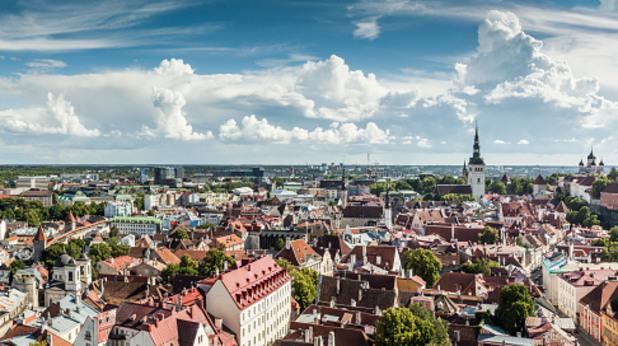естония, талин, панорама