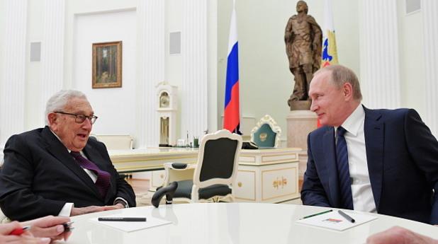 хенри кисинджър, кисинджър, владимир путин, путин, среща, москва, кремъл