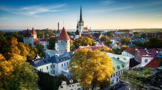 талин, естония, столица