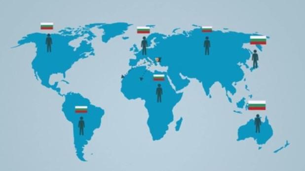 българи, чужбина, емигранти, държави
