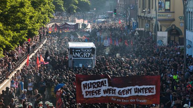 г-20,протестиращи,хамбург