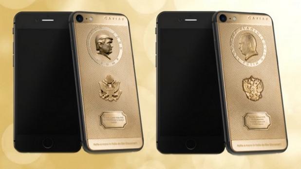 iphone, путин, тръмп, луксозен