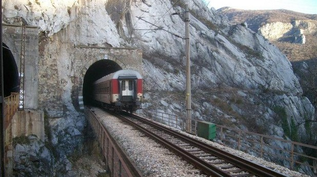 жп тунел, българия, релсов път