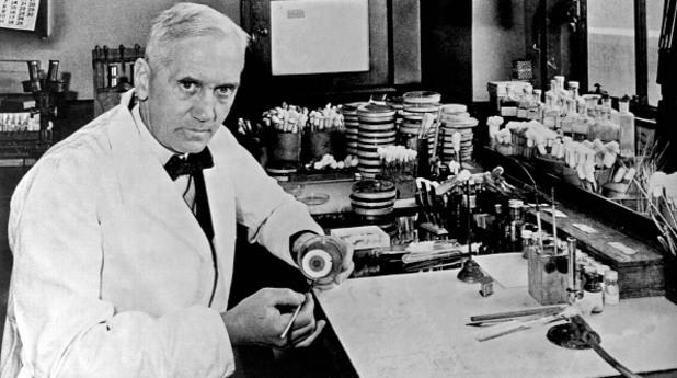 александър флеминг, пеницилин, откритие