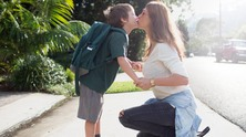 mother-and-son-school