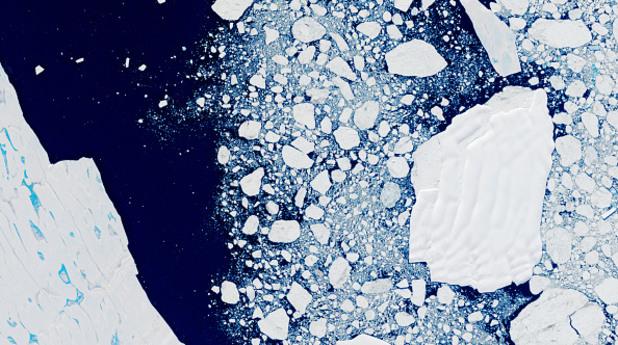 ларсен с, леден шелф, айсберг