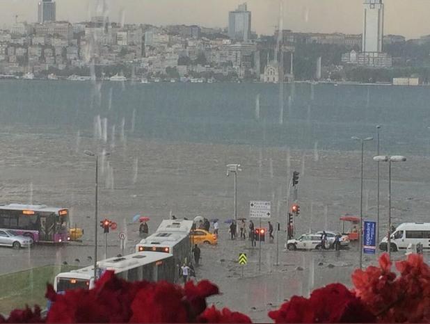 наводнения в истанбул