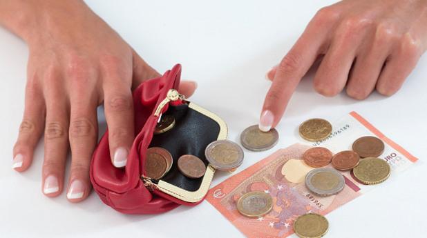 портфей, портмоне, пари, монети, банкноти, кеш