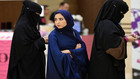 саудитска арабия, жени, забрадки