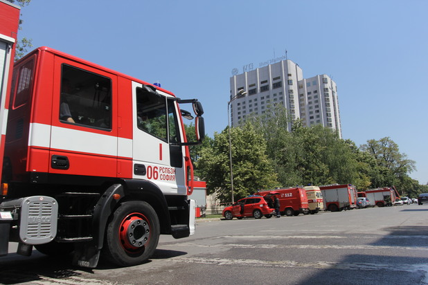 Пожар избухна в Маринела