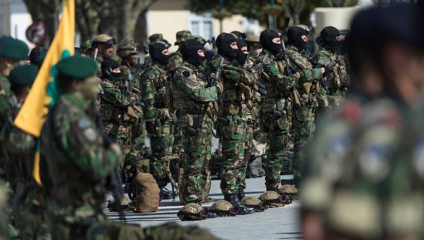 португалия - военен парад