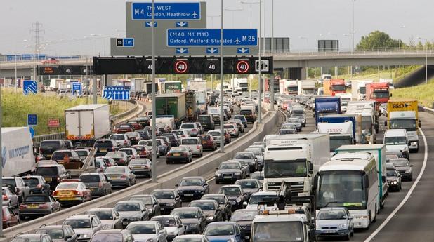 лондон, задръстване, автомобили, коли, трафик