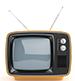 телевизор, телевизия, момче с телевизор