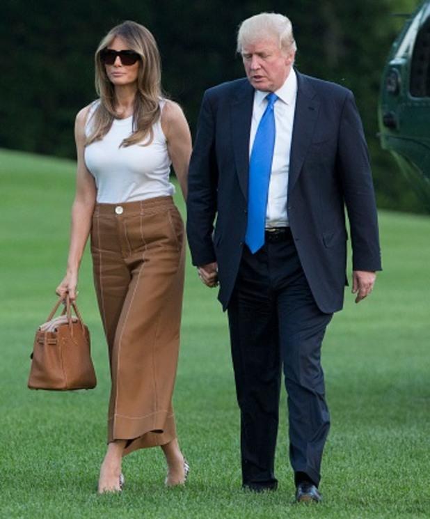 мелания тръмп, тръмп, първа дама