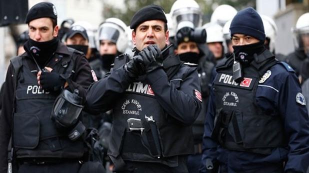 турция, полиция, полицаи