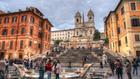 площад испания, рим