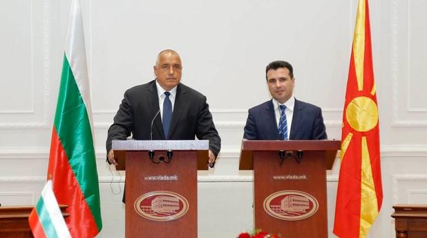 бойко борисов, зоран заев, скопие, българия, македония