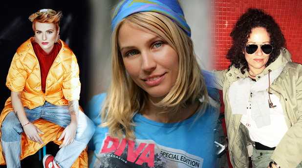 Миленита, Белослава и Рут Колева на Sofia Spark Fest