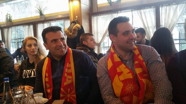 Зоран Заев и Драган Тевдовски