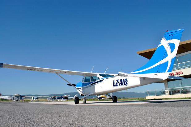 Четириместен самолет Cessna