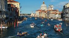 венеция, италия, туристи